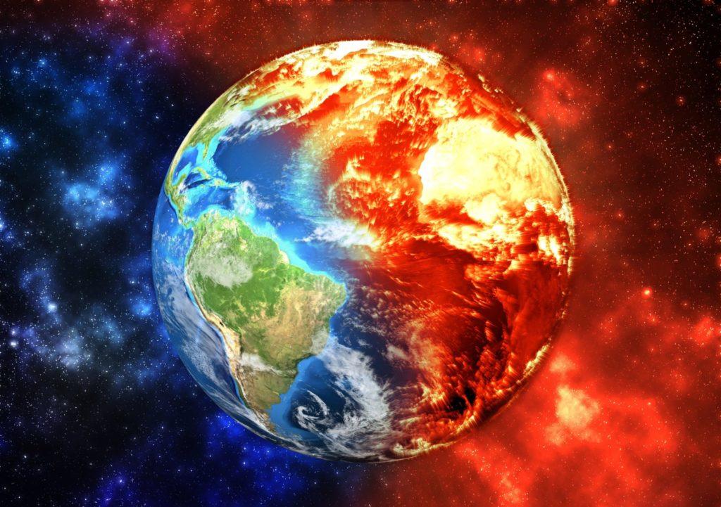 Die Ressourcen der Erde sind aufgebraucht
