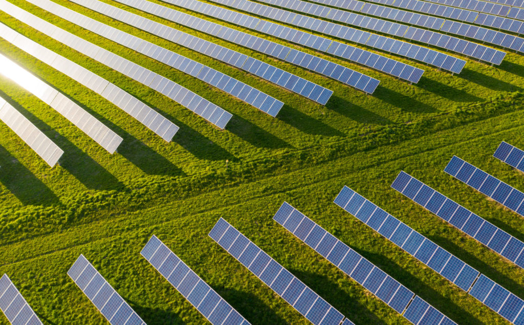 Solarpark Solarenergie